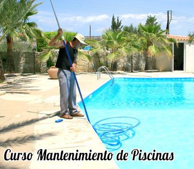 Curso oficial de mantenimiento de piscinas for Curso mantenimiento piscinas